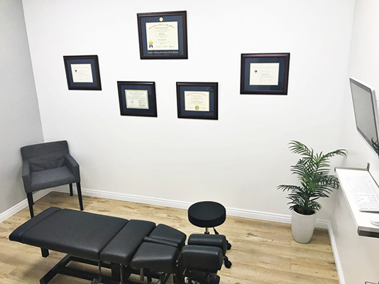 Chiropractic Downey CA Reform Chiropractic Adjustment Room