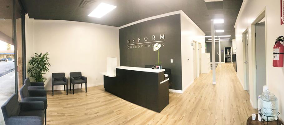 Chiropractic Downey CA Reform Chiropractic Lobby Area