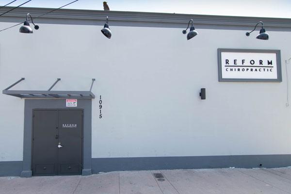 Chiropractic El Monte CA Back Entrance